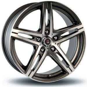 24H Du Mans Arnage Gun Metal Polished 6.5x15 4/108 ET25 B73.1