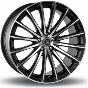 24H Du Mans GP1 Black Polished 6.5x15 5/114.3 ET40 B67.1