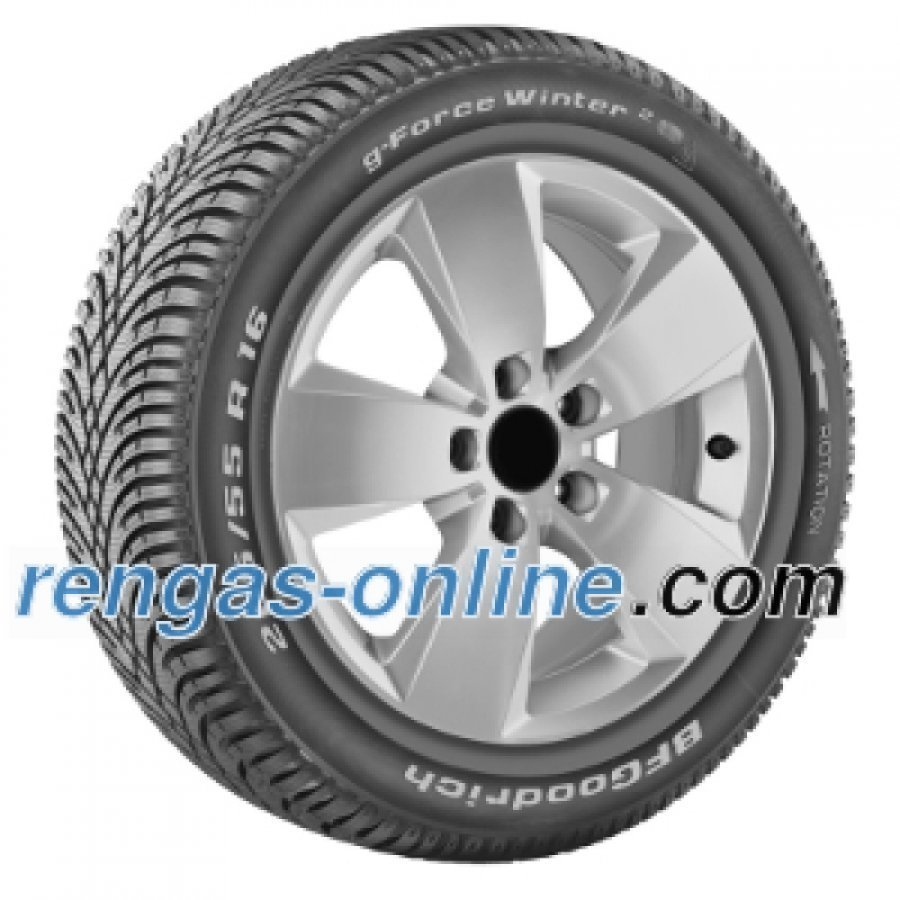 Bf Goodrich G-Force Winter 2 225/45 R17 94h Xl Vanteen Suojalistalla Fsl Talvirengas