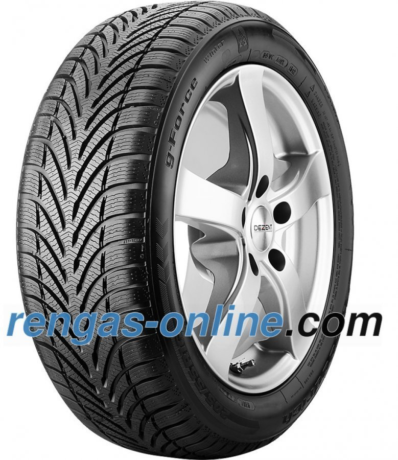 Bf Goodrich G-Force Winter 215/45 R17 91h Xl Vanteen Suojalistalla Fsl Talvirengas