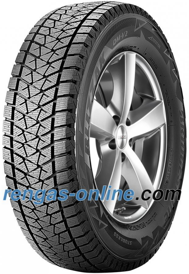 Bridgestone Blizzak Dm V2 275/60 R18 113r Vannesuojalla Mfs Talvirengas