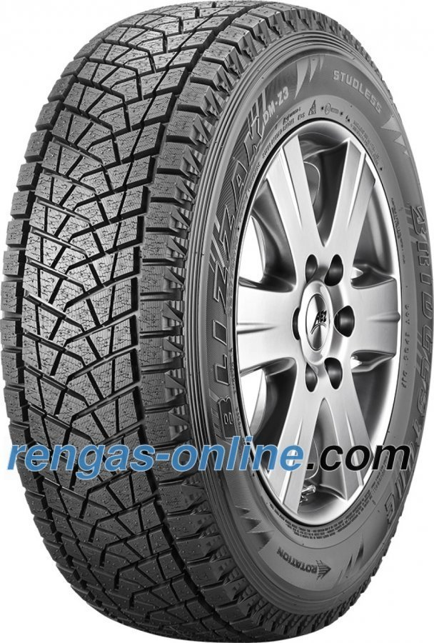 Bridgestone Blizzak Dm Z3 225/70 R15 100q Rbt Talvirengas