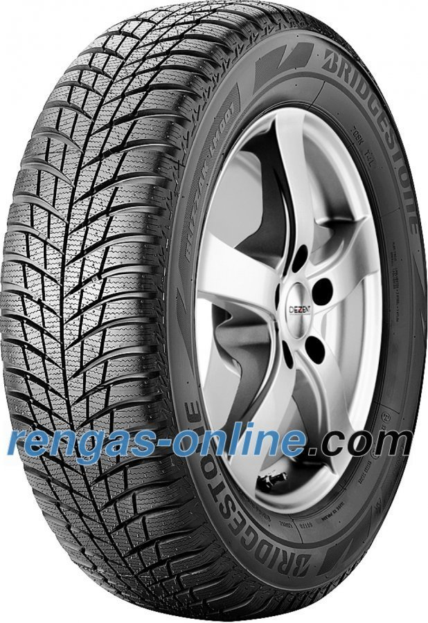 Bridgestone Blizzak Lm 001 185/55 R15 82t Vannesuojalla Mfs Talvirengas