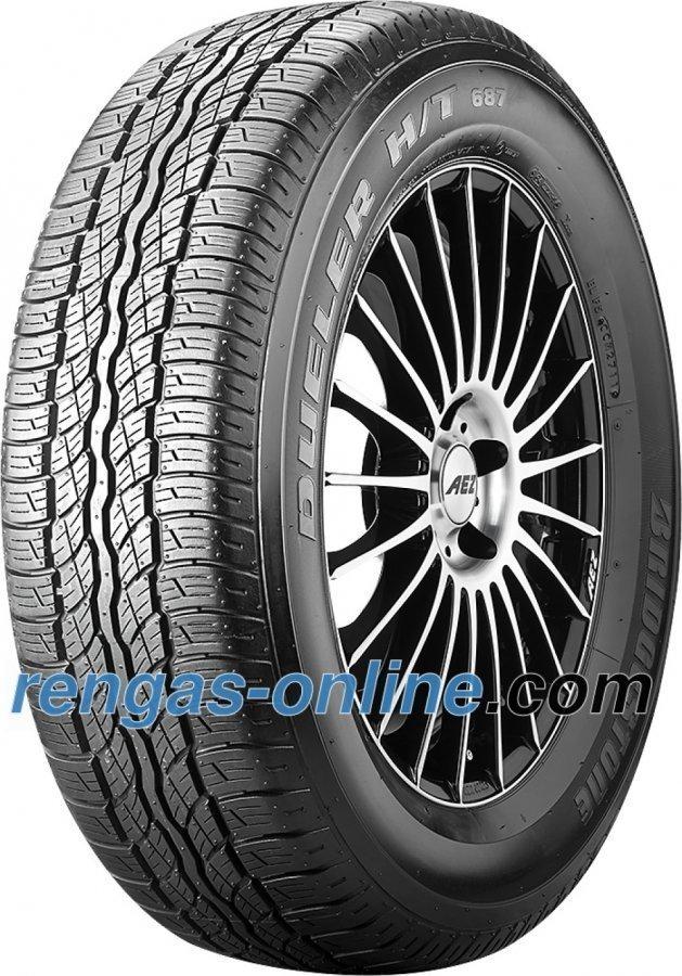 Bridgestone Dueler 687 H/T 225/65 R17 101h Ympärivuotinen Rengas