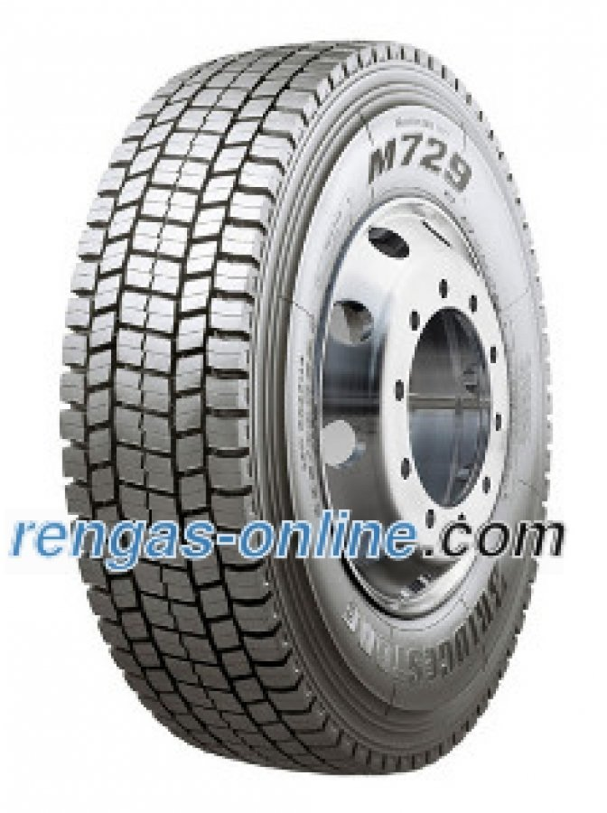 Bridgestone M 729 315/80 R22.5 154/150m Kaksoistunnus 156/150l Kuorma-auton Rengas