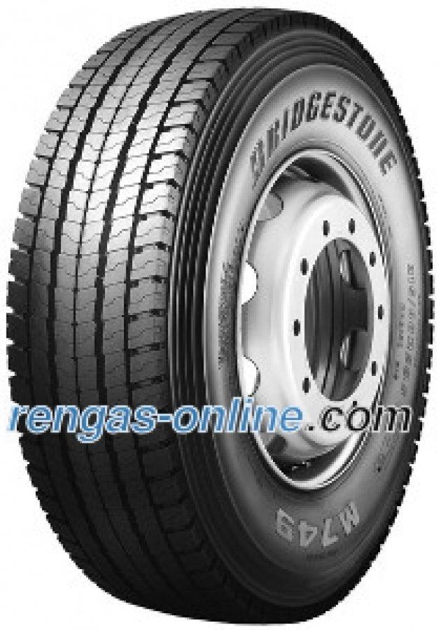 Bridgestone M 749 Ecopia 315/80 R22.5 154/150m Kaksoistunnus 156/150l Kuorma-auton Rengas