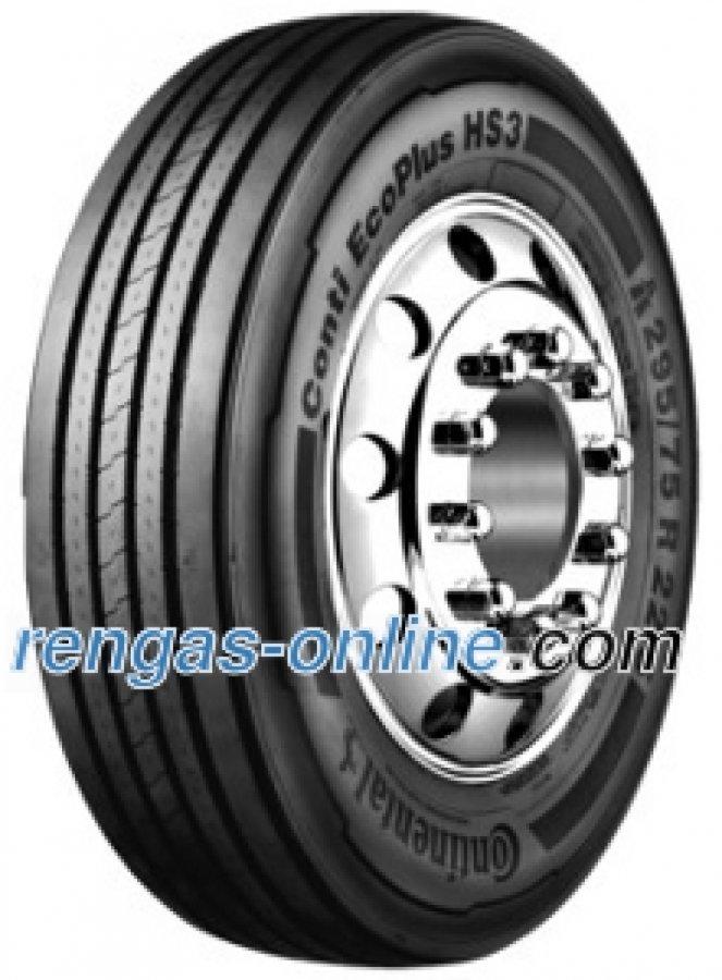 Continental Conti Ecoplus Hs3 315/80 R22.5 156/150l Kaksoistunnus 154/150m Kuorma-auton Rengas