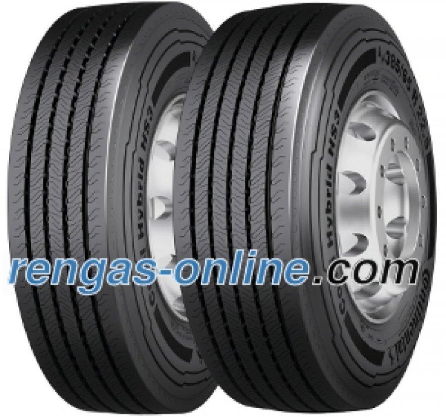 Continental Conti Hybrid Hs3 315/80 R22.5 156/150l Kaksoistunnus 154/150m Kuorma-auton Rengas