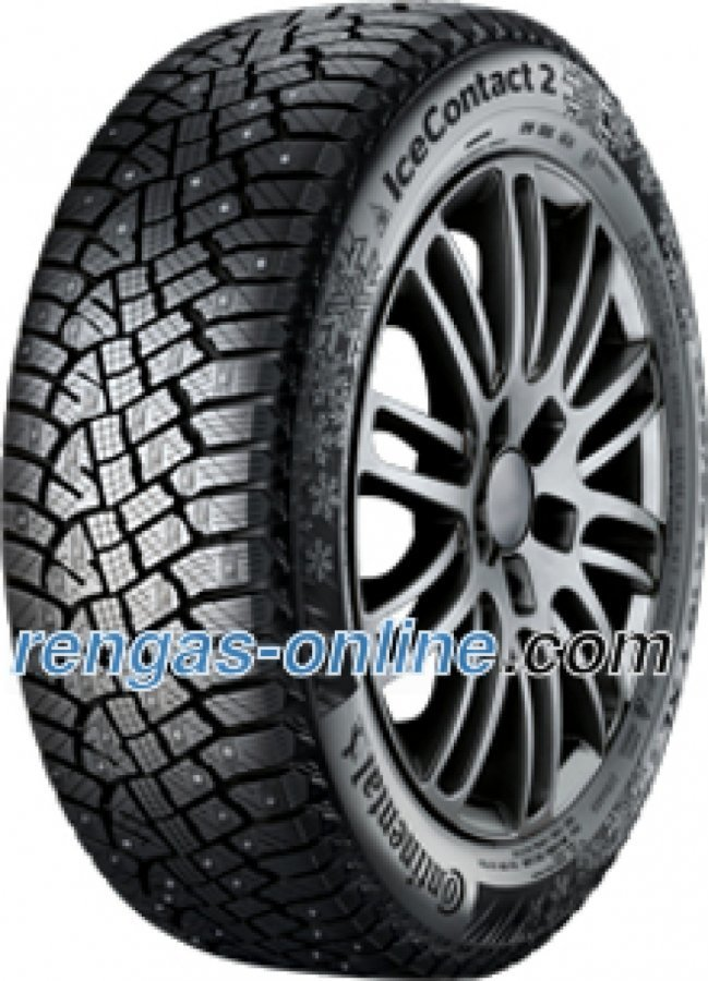 Continental Conti Ice Contact 2 225/60 R18 104t Xl Nastarengas Talvirengas