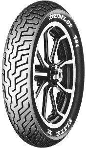 Dunlop 491 Elite Ii 130/90b16 Tl 67h Etupyörä M/C Rwl Moottoripyörän Rengas