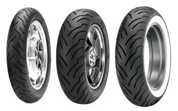 Dunlop American Elite 100/90-19 Tl 57h Etupyörä M/C Moottoripyörän Rengas