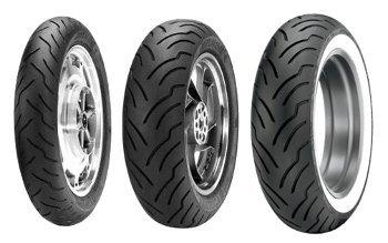 Dunlop American Elite 130/80b17 Tl 65h Etupyörä M/C Nw Moottoripyörän Rengas