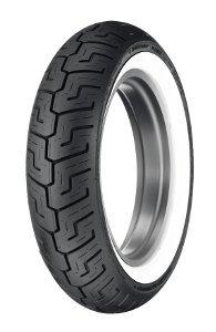 Dunlop D 401 Elite S/T H/D Www 150/80b16 Tl 71h Takapyörä M/C Valkosivu Wide White Wall Moottoripyörän Rengas
