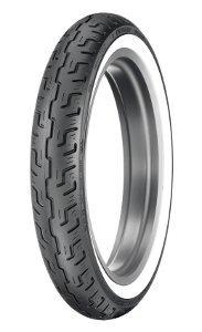 Dunlop D 401 F Elite S/T H/D Www 100/90-19 Tl 57h Etupyörä M/C Valkosivu Wide White Wall Moottoripyörän Rengas
