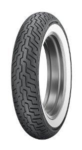 Dunlop D 402 F H/D Www Mt90b16 Tl 72h Etupyörä M/C Valkosivu Moottoripyörän Rengas