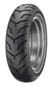 Dunlop D 407 H/D Sw 180/65b16 Tl 81h Takapyörä M/C Single White Stripe Moottoripyörän Rengas