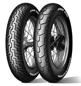 Dunlop D402 H/D Mu85b16 Tl 77h M/C Takapyörä Moottoripyörän Rengas