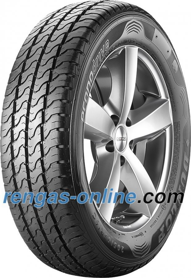 Dunlop Econodrive 195/65 R16c 100/98t Kesärengas