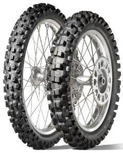 Dunlop Geomax Mx 52 120/80-19 Tt 63m Takapyörä M/C Moottoripyörän Rengas