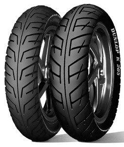 Dunlop K 205 F 110/80-16 Tl 55v M/C Etupyörä Moottoripyörän Rengas