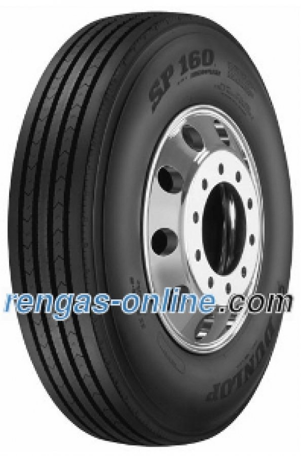 Dunlop Sp 160 255/70 R22.5 140/137m 16pr Kuorma-auton Rengas