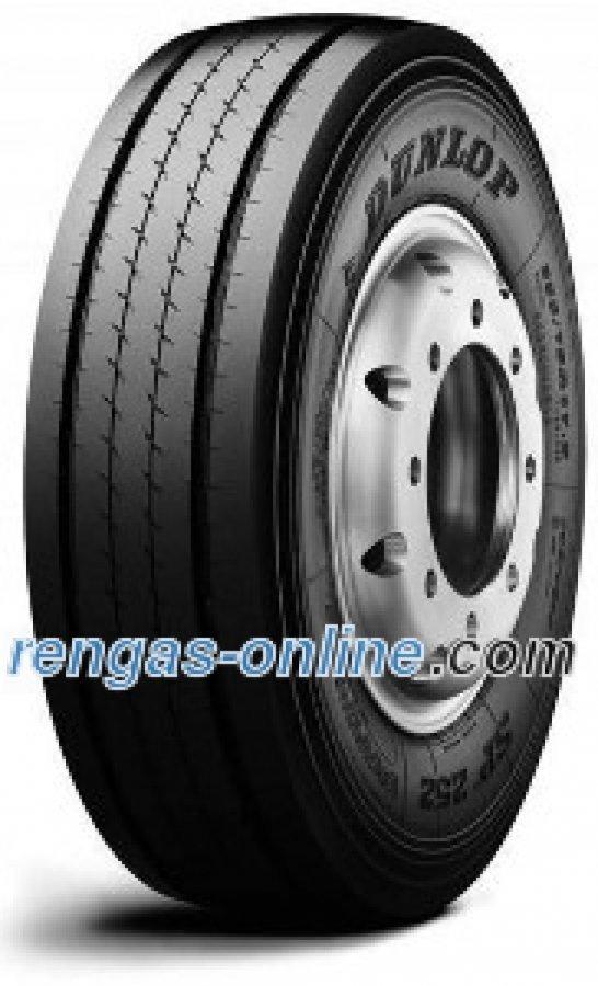 Dunlop Sp 252 235/75 R17.5 143/141j 18pr Kaksoistunnus 14 Doppelkennung 144/144f Kuorma-auton Rengas