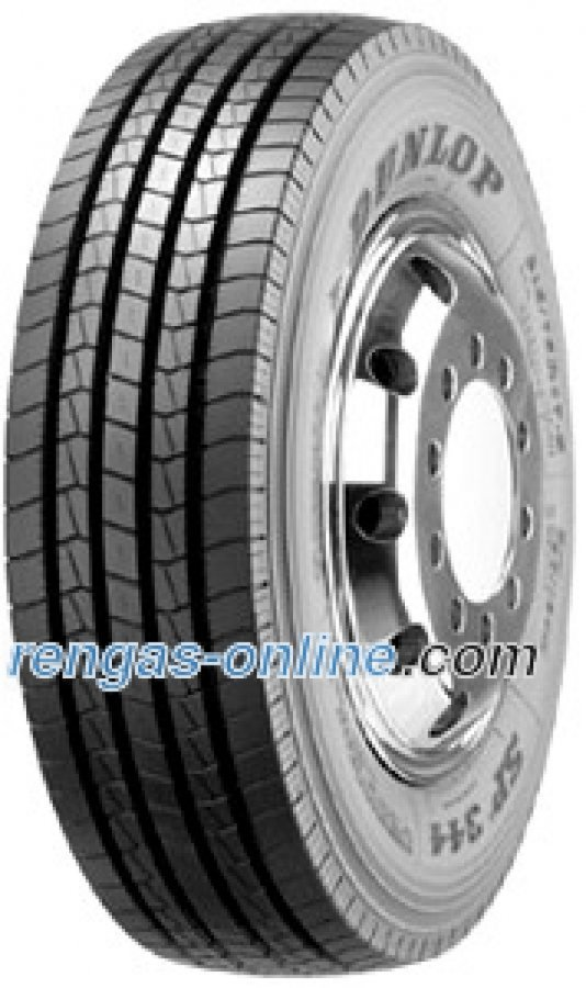 Dunlop Sp 344 225/75 R17.5 129/127m 12pr Kuorma-auton Rengas