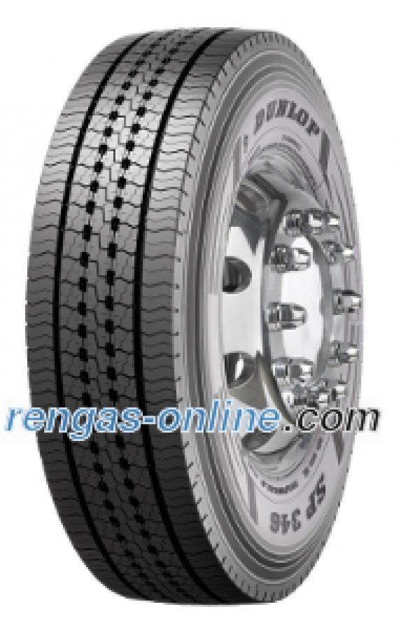 Dunlop Sp 346 295/60 R22.5 150k Kaksoistunnus 149l Kuorma-auton Rengas