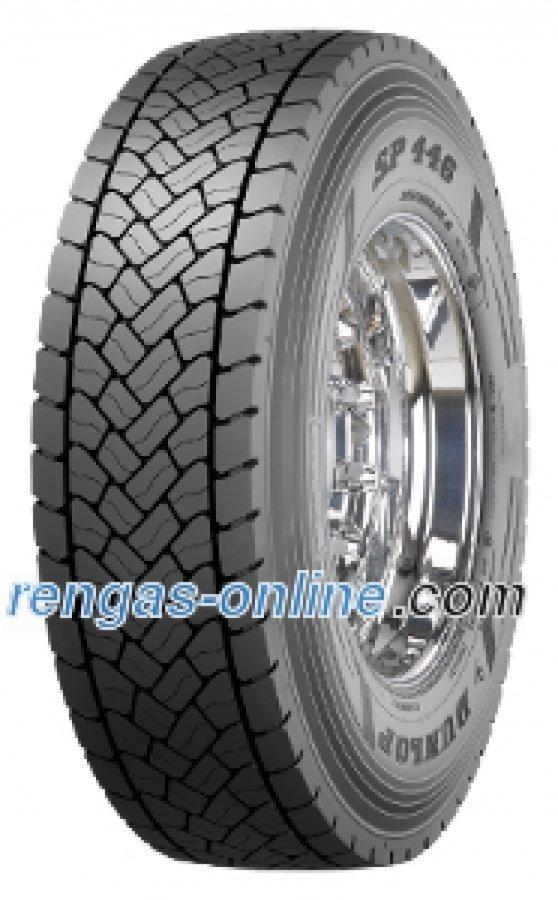 Dunlop Sp 446 315/80 R22.5 156l Kaksoistunnus 154m Kuorma-auton Rengas