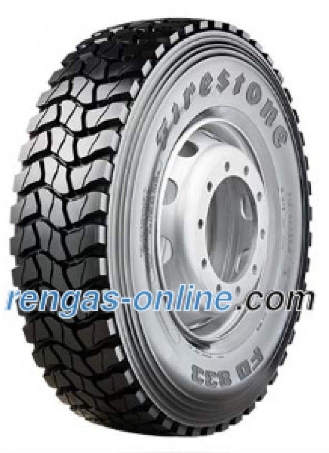 Firestone Fd 833 315/80 R22.5 156/150k Kuorma-auton Rengas