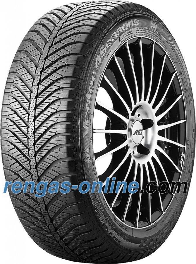 Goodyear Vector 4 Seasons 195/55 R16 87h Vannesuojalla Mfs Ympärivuotinen Rengas