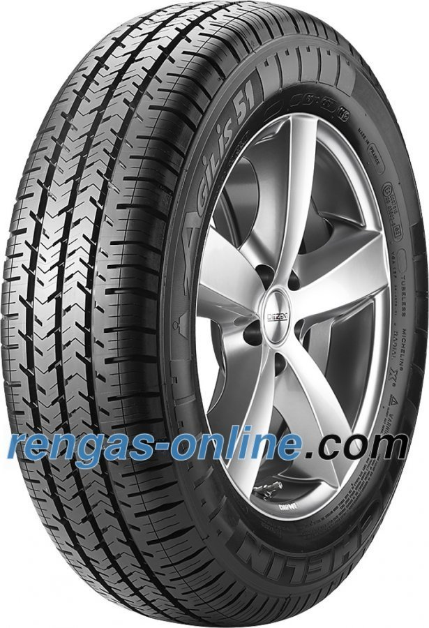 Michelin Agilis 51 195/65 R16c 100/98t 6pr Kesärengas