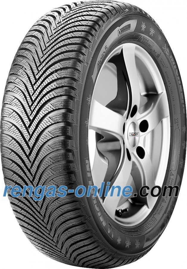 Michelin Alpin 5 195/45 R16 84h Xl Vanteen Suojalistalla Fsl Talvirengas