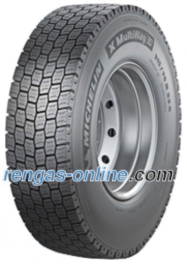 Michelin Remix X Multiway 3d Xde 315/80 R22.5 156/150l Pinnoitettu Kuorma-auton Rengas