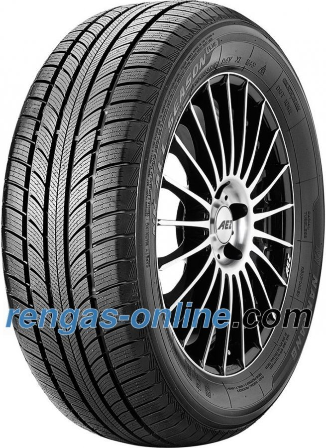 Nankang All Season Plus N-607+ 225/55 R17 101h Xl Ympärivuotinen Rengas