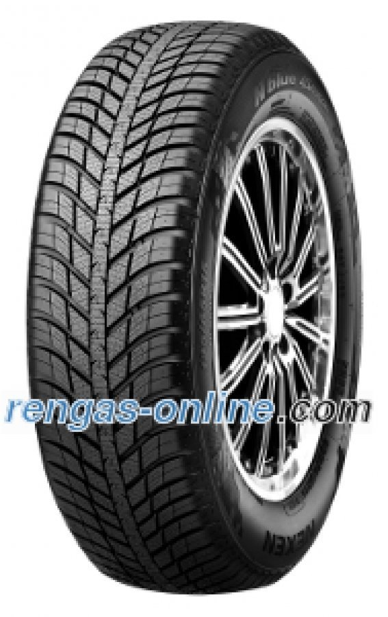 Nexen N Blue 4 Season 185/65 R14 86t 4pr Ympärivuotinen Rengas