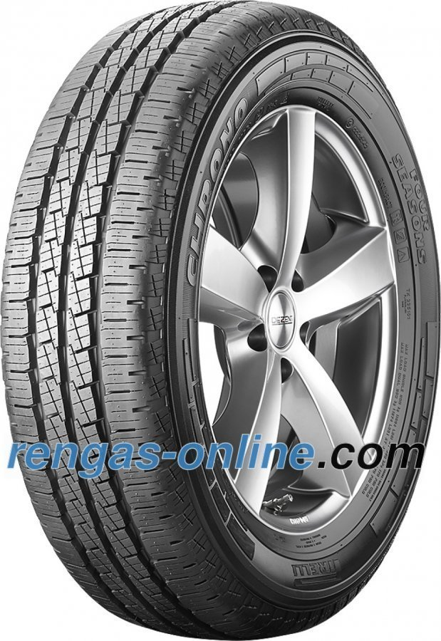 Pirelli Chrono Four Seasons 215/65 R16c 109/107r Ecoimpact Kaksoistunnus 106t Ympärivuotinen Rengas