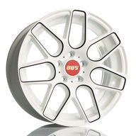 Alumiinivanne 885 Motorsport White & Black | 7.5x17 | 5x112 | ET35 | KR66