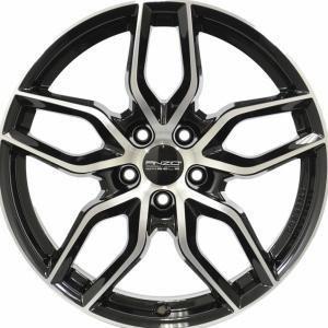 Anzio Spark Black Polished 7.5x17 5/114.3 ET45 B70.1