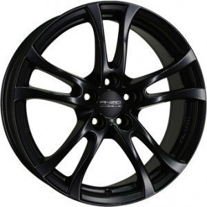 Anzio Turn Matt Black 7.5x17 5/114.3 ET50 B70.1
