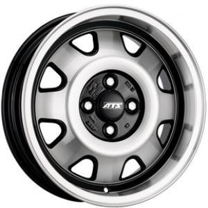 ATS Cup Diamond Black Polished Front 8x18 5/112 ET48 B57.1