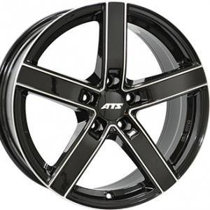 ATS Emotion Black Polished 7.5x17 5/100 ET35 B57.1