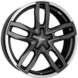 ATS Temperament Blizzard Grey Polished Lip 8.5x18 5/127 ET40 B71.6