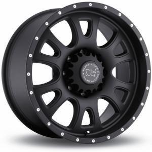 Black Rhino Lucerne Matt Black 9x17 6/139.7 ET-12 B112