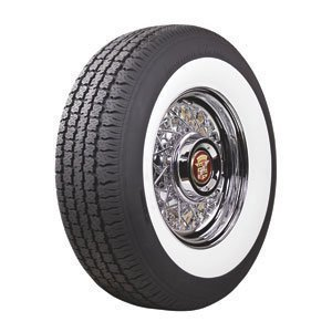 Coker Classic 215/75R14 0 White wall 63mm