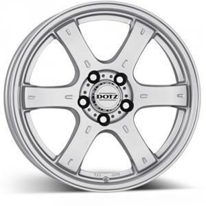 Dotz Crunch silver 8x16 6/114.3 ET30 B66.1