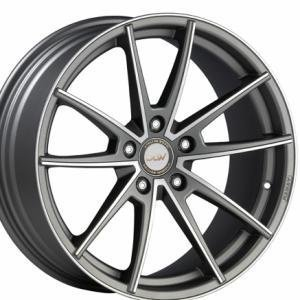 EtaBeta Manay Matt Anthracite Polished 8.5x19 5/112 ET35 B78.1