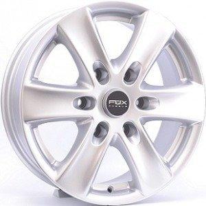 Fox FXCII Silver 7x16 6/139.7 ET45 B92.3