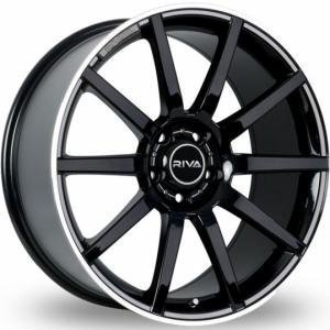 Fox Riva BNZ Black Polished 8x18 5/112 ET32 B73.1