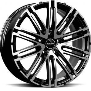 GMP Targa Black Polished 10x20 5/112 ET19 B66.6
